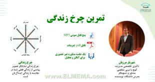 تمرین چرخ زندگی دکتر شهریار مرزبان